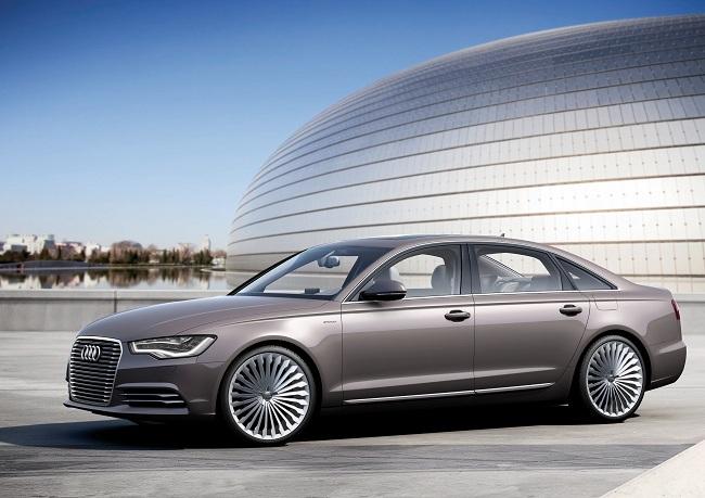 Audi A6 L e-tron Concept, híbrido enchufable desde China