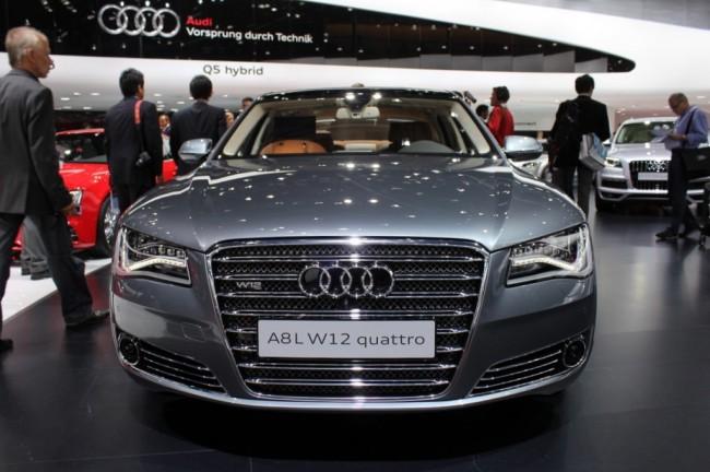 Audi lanza una edición especial de su A8 W12 Largo