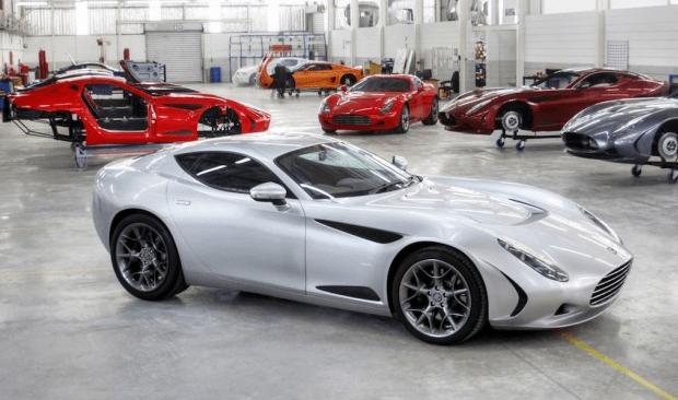 El Z-One regresa bajo el nombre de AC 378 GT  Zagato