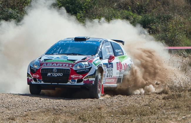 Albert Llovera campeón de España de Rallyes de Tierra, en la categoría de Grupo N