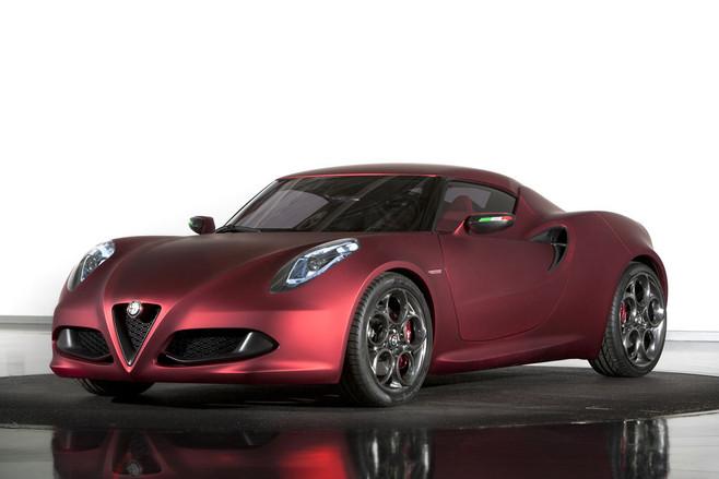 El nuevo Alfa Romeo 4C