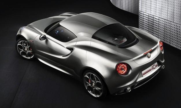 Alfa Romeo 4C confirmado para 2013