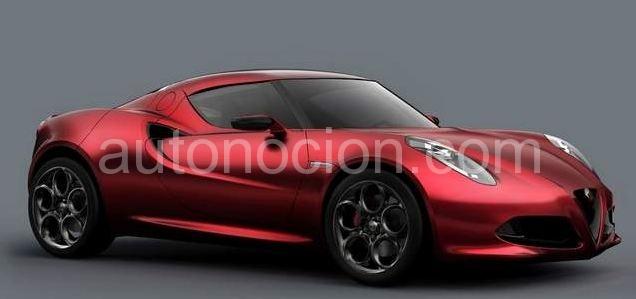 ¿Alfa Romeo 4C para finales de este año?