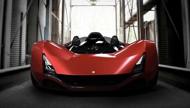 El Ferrari del futuro podría llamarse Aliante