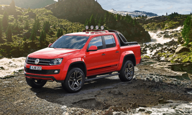 Amarok Concept Cañón: Lo más extremo de Volkswagen