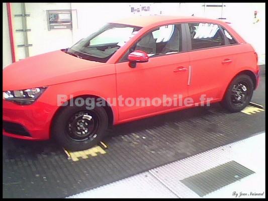 El Audi A1 Sportback sin nada de camuflaje