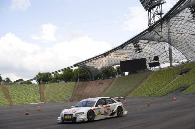 Audi en la primera final de Munich y la presentación del A5 DTM