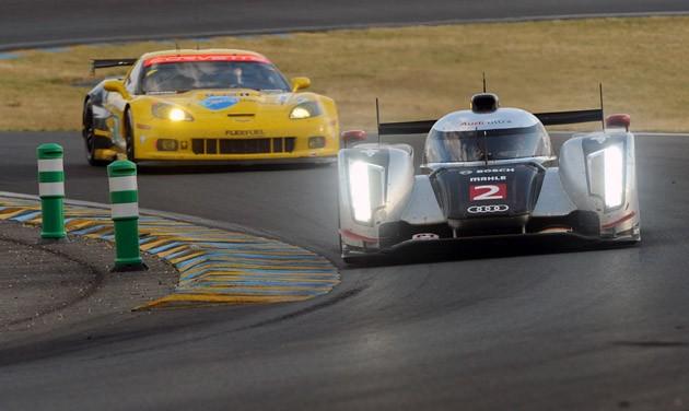 Audi golpea a Peugueot en Le Mans