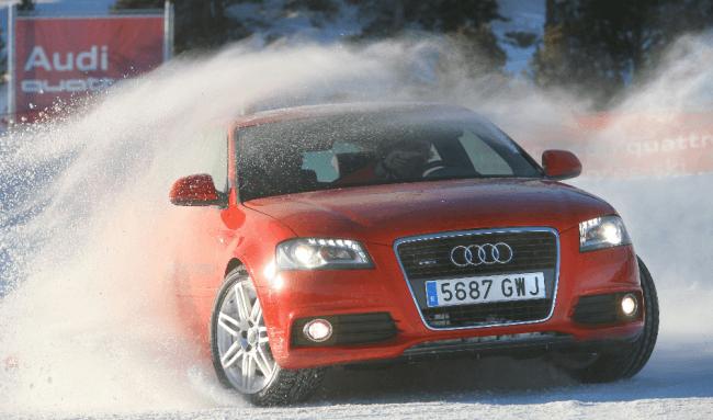 Comienza el invierno y vuelve el Audi Driving Experience 2012