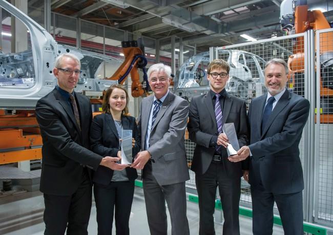 Audi entrega sus premios Audi Production Award