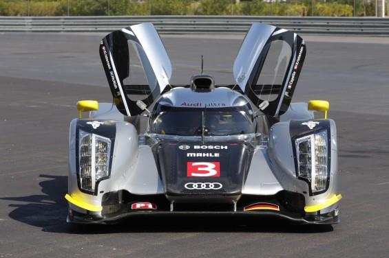 Audi vuelve a Le Mans con un R18 alado