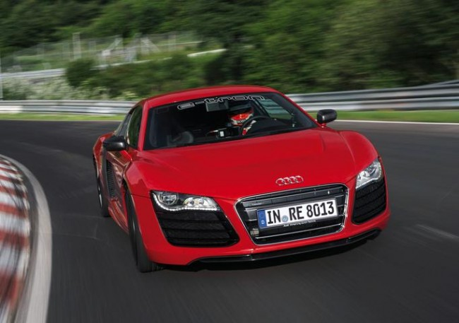 Récord mundial para el Audi R8 E-TRON en Nürburgring