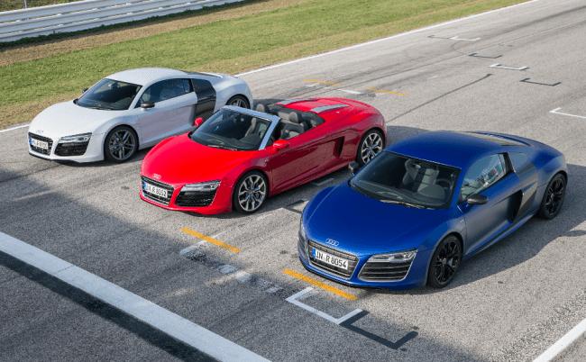 Vuelve el Audi R8: ultraligero y más deportivo