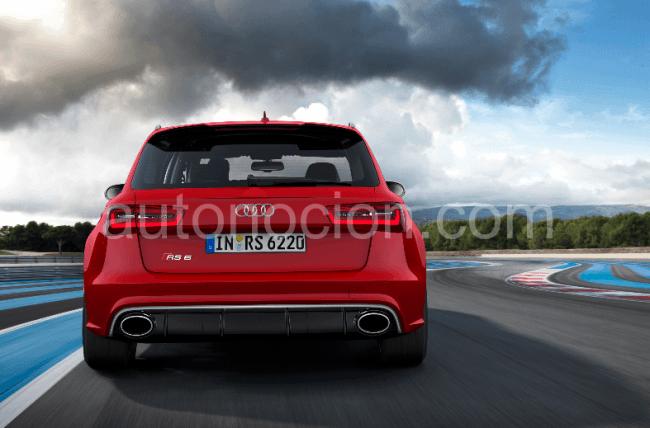 Detalles del Audi RS6 Avant: Motor, transmisión, tren de rodaje y carrocería
