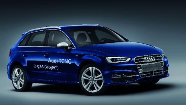 El Audi A3 Sportback TCNG