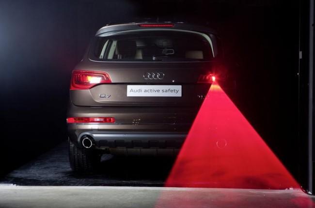 Un automóvil con muchas luces: Nueva iluminación láser de Audi