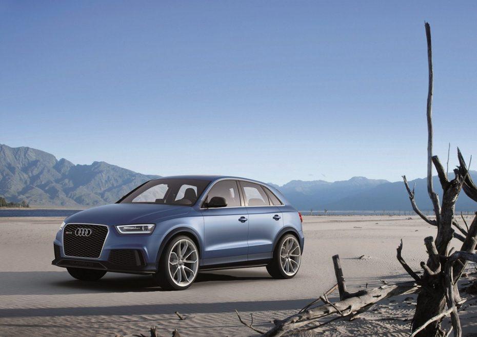 Llega el Audi RS Q3, un concept con aires chinos