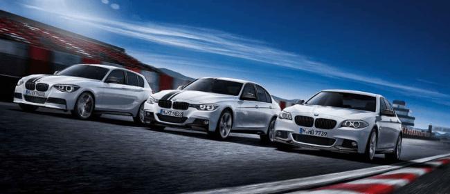 BMW Performance Parts: de momento sólo para las series 1, 3, y 5