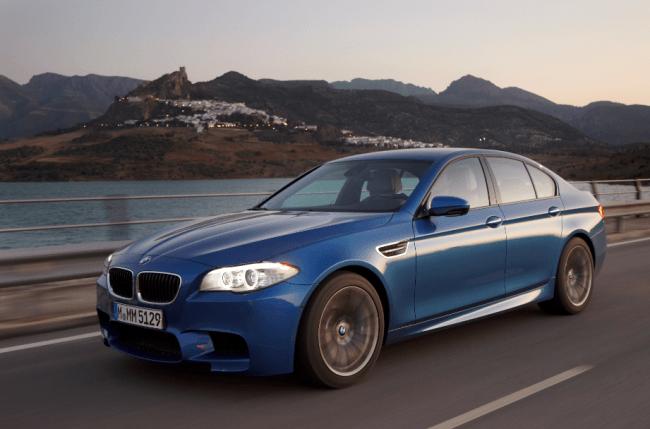 El nuevo BMW M5 estará a la venta el 14 de enero del 2012