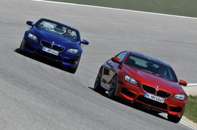 Los dos mellizos de BMW se preparan para septiembre: M6 Coupé y M6 Cabrio