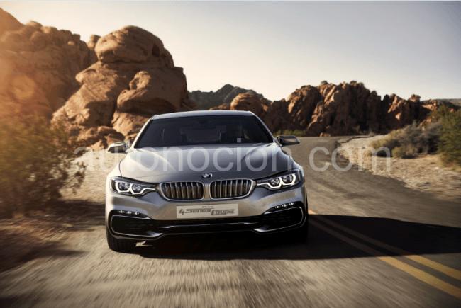 BMW Serie 4 Concept Coupé. Estética, dinamismo, individualismo