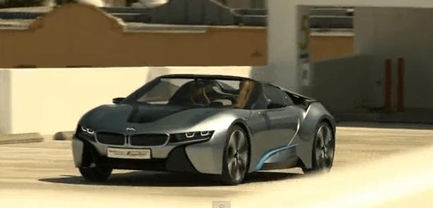 El BMW i8 en acción