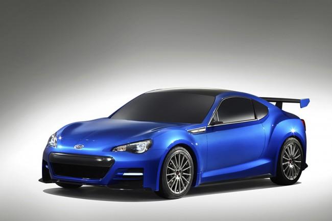 Subaru BRZ Concept STI: nuevas imágenes oficiales y más datos