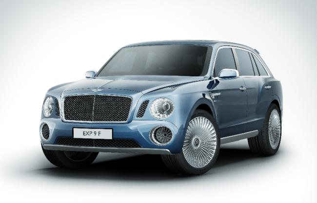 Bentley EXP 9 F: Un nuevo mercado para una marca realmente clásica