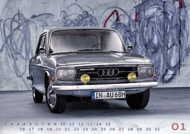 Nuevo Calendario Audi Tradition 2013