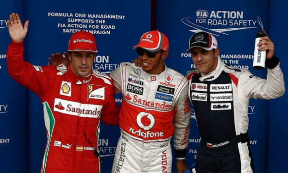 Clasificación GP España: Hamilton manda y mañana tratará al fin de lograr la victoria