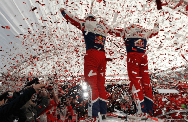 Sébastien Loeb y Daniel Elena Campeones del Mundo