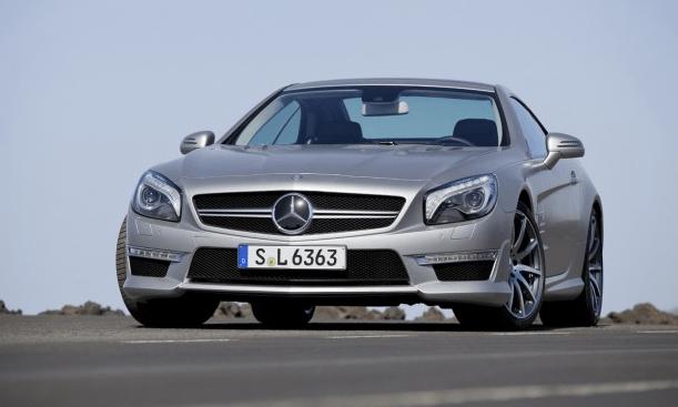 125 kg menos que su predecesor: Mercedes-Benz SL63 AMG