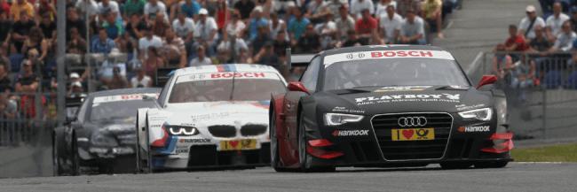 Primera victoria para el nuevo Audi A5 DTM