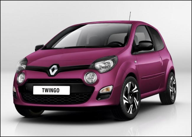 Renault elige al  Twingo para ser el primero en estrenar la nueva imagen de la marca