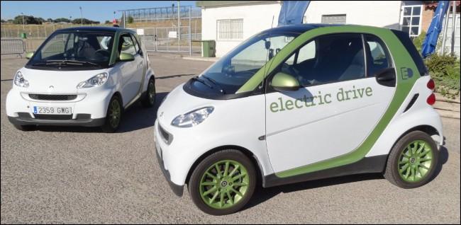 Prueba Smart Electric Drive