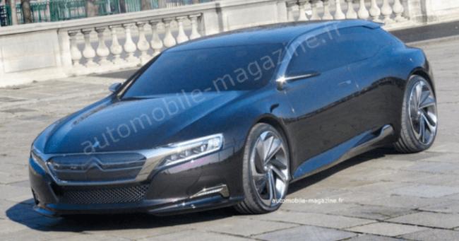 Citroën DS9 cazado sin camuflaje en Paris