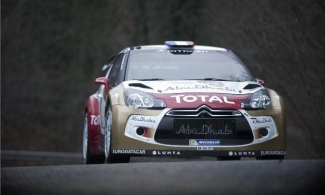 Citroën prepara cuatro DS3 WRC para Montecarlo