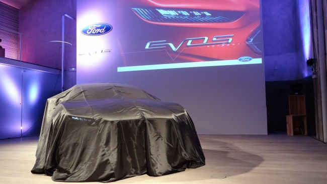 El Ford Evos visita Madrid