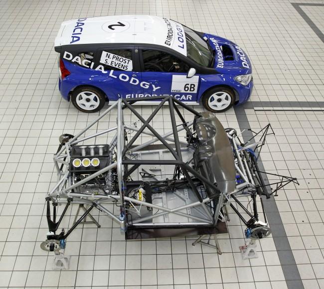 Dacia Lodgy Glace, un adelanto del nuevo modelo de la marca del grupo Renault