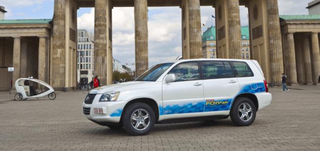 Toyota hará una demostración del vehículo híbrido de pila de combustible