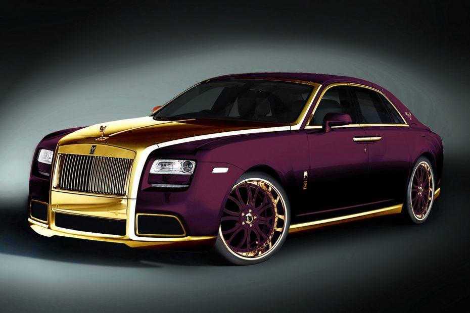 Fenice Milano fabricará un Rolls-Royce Ghost con oro de 24k