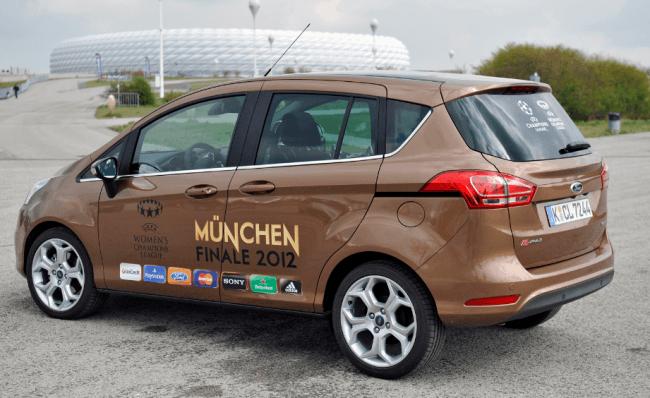 Ford Celebra 20 años con la UEFA Champions League