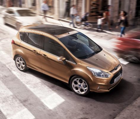 El nuevo Ford B-MAX apunta maneras con sus buenos consumos