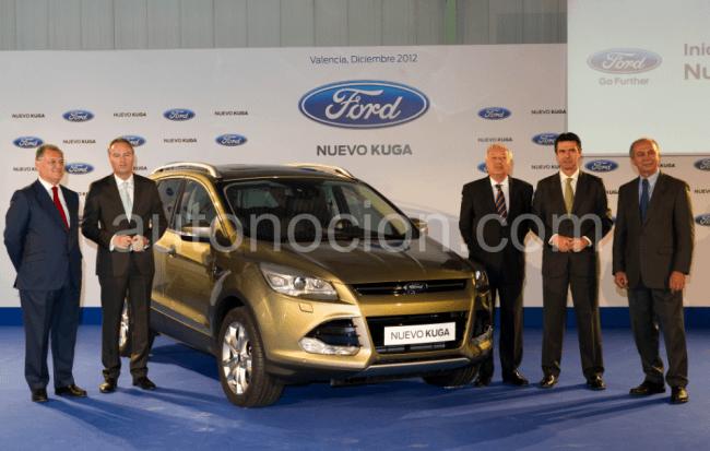 Ford lanza en Valencia el nuevo Kuga