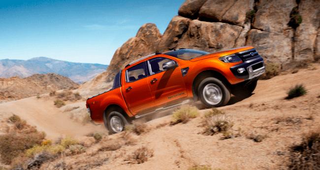 El Ford Ranger es el pickup más seguro de Europa