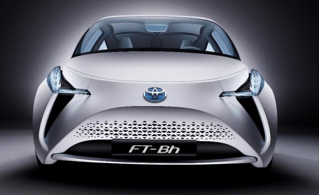 Toyota FT-Bh: 786kg de peso y 2.1 litros/100km