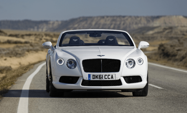 El nuevo Bentley Continental GTC V8