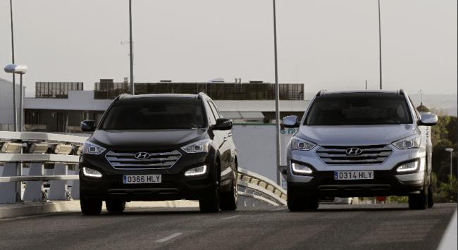 El Hyundai Santa Fe galardonado con el IIHS Top Safety Pick
