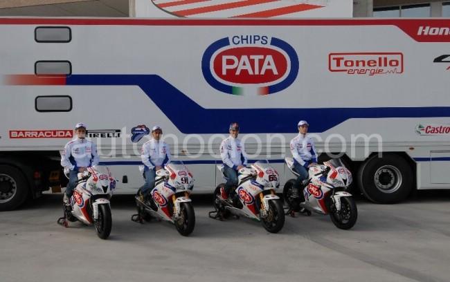 Honda Pata Team nos muestra su equipo para esta temporada
