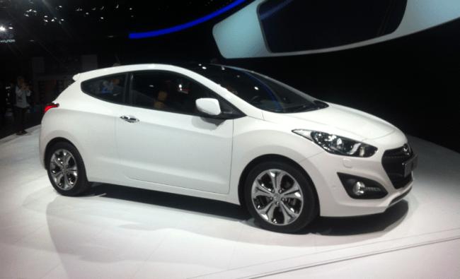 Hyundai nos muestra el i30 de tres puertas